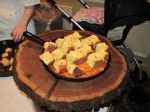 Cornbread with Jalapeño butter to accompany Manhattan Corn & Juniper Smoked Whitefish Chowder