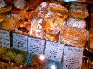 Pastry selection Pusateri's on Saturday morning