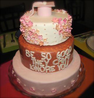 grad cake