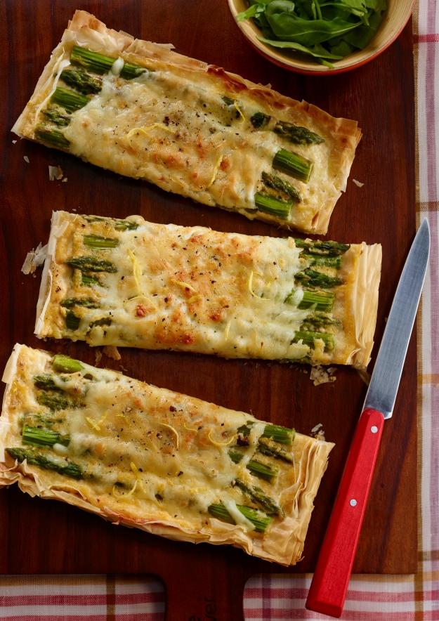 Mozzarellissima Asparagus Tart