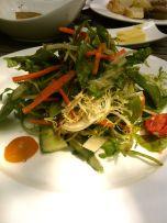 Salad of Sweet & Bitter Greens