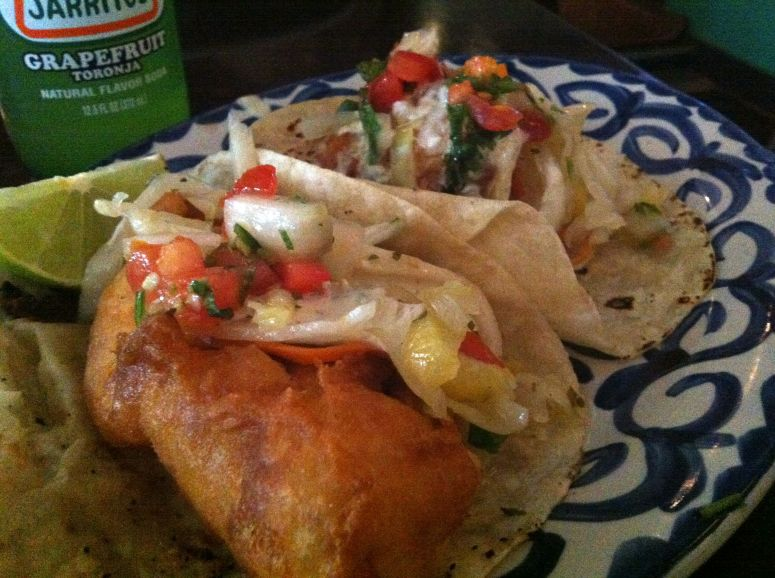 Milagro fish tacos