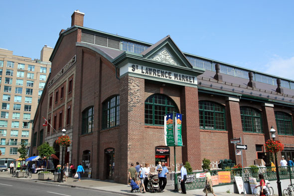 St.Lawrence Market building photo courtesy BlogTo.com