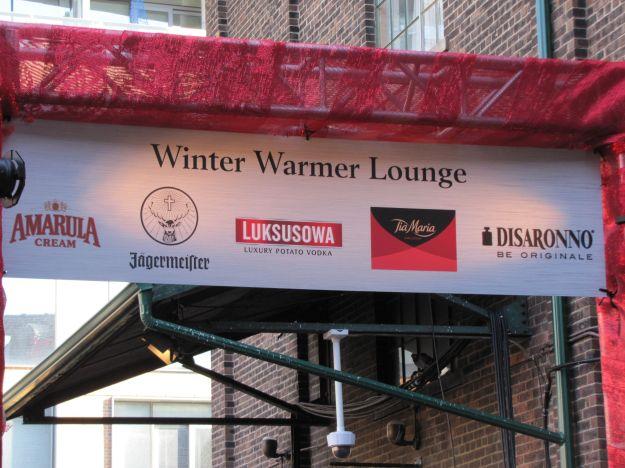 Winter Warmer lounge