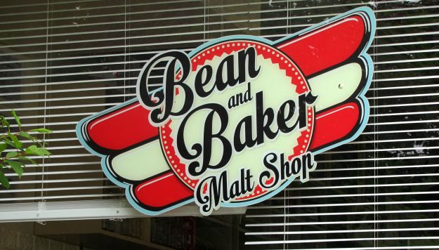 Bean and Baker Sign