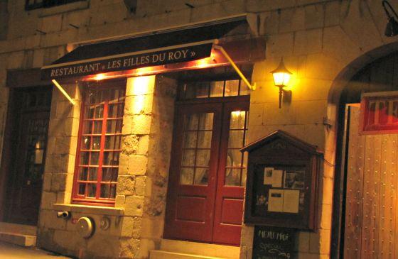 Filles du Roy Entrance